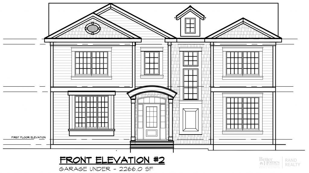 2260 SF-#2 MARKETING SET - ELEVATION #2 -