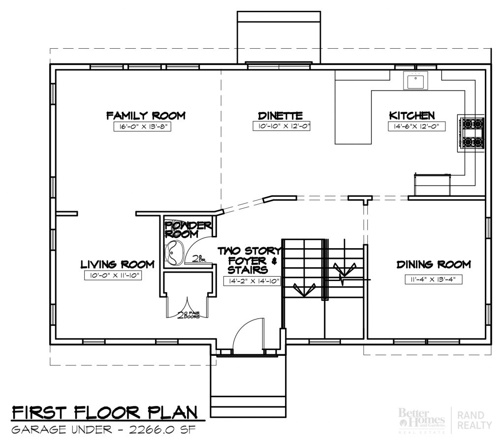 2260 SF-#2 MARKETING SET - FIRST FLOOR-