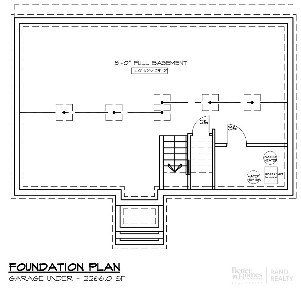2260 SF-#2 MARKETING SET - FOUNDATION