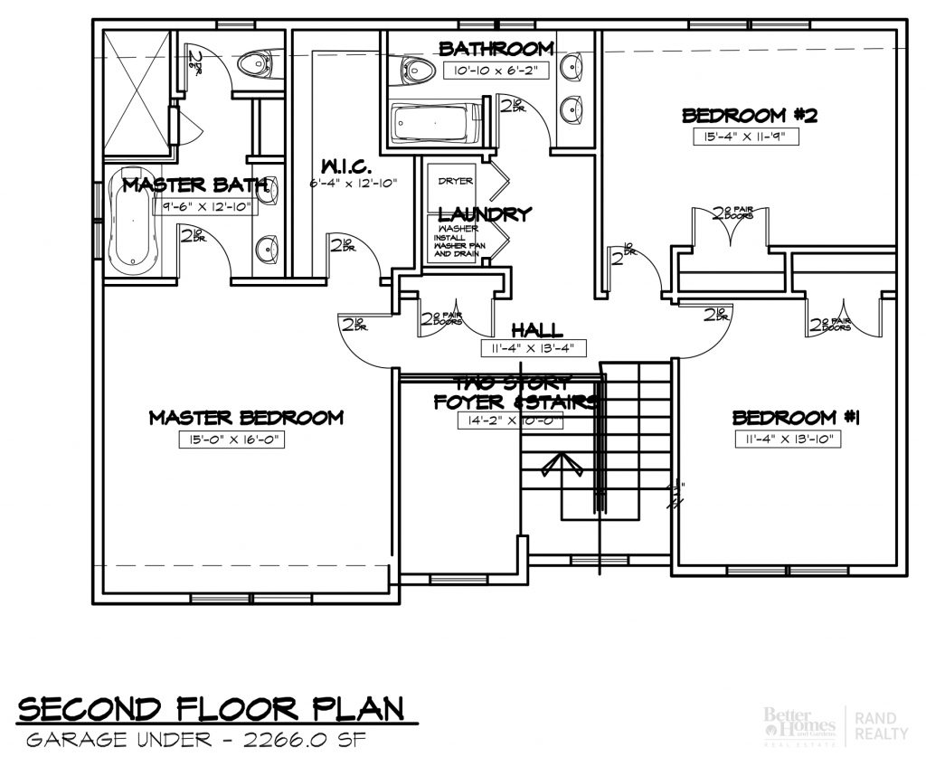 2260 SF-#2 MARKETING SET SECOND FLOOR